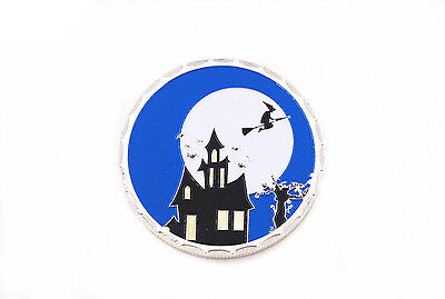 Halloween Fluorescence Commemorative Coin Silver Clad New
