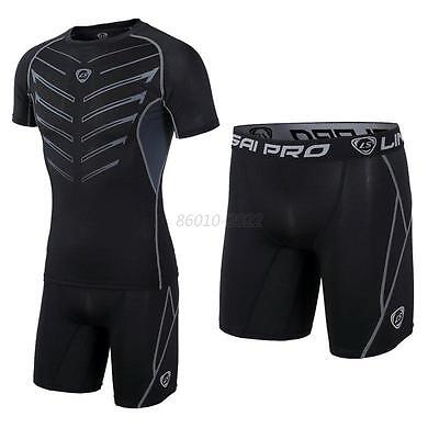 S-XXL Mens Quick Dry Sports Fit Shorts Training Athletic Apparel Gym Short Pants