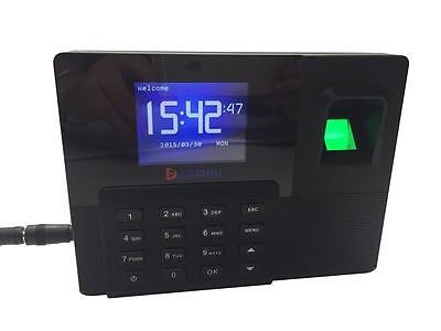 2.8TFT Backup Battery Fingerprint RFID Time Clock Attendance with TCP/IP A9 AU