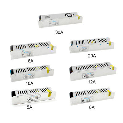 DC12V 5A-30A Mini Universal Regulated Switching Power Supply For LED Strip/CCTV