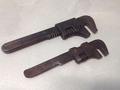 OLD VINTAGE ANTIQUE No 3 SHIFTING BICYCLE SPANNER HERBRAND SEABROOK'S USA TOOLS