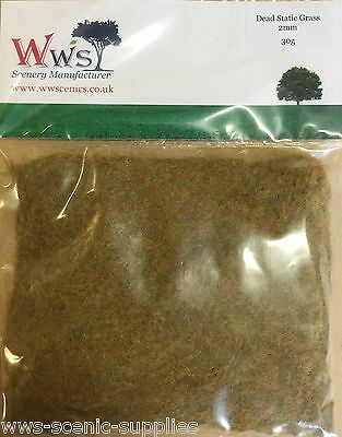 WWS Autumn Static Grass 1mm Scenery Terrain Landscape Select Weight