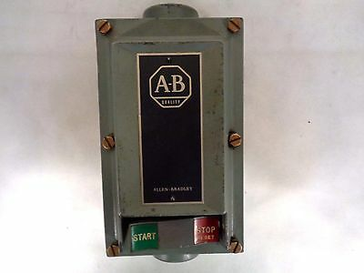 Allen Bradley 609-Aew Series H Manual Starter For Hazardous Location