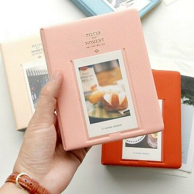 64 Pockets Mini Album Case Storage For Polaroid Photo FujiFilm Instax Film Size