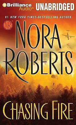 CHASING FIRE unabridged audio book on CD by NORA ROBERTS