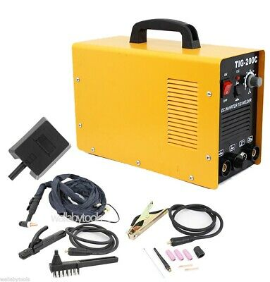 220V TIG 200C AMP DC Inverter MMA Welding Machine Stainless Steel Welder New