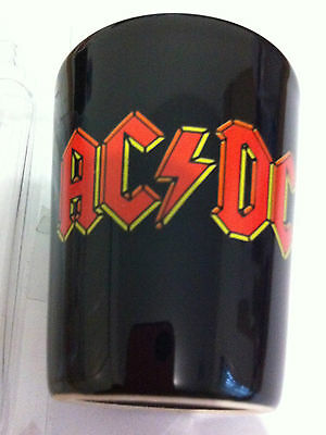 AC/DC Band Shot Glass 2 inch Red Logo Shotglass NEW OFFICIAL MERCHANDISE
