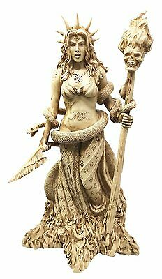 """Ancient Greek Godess Daughter Of Perses """"hekate"""" W/ Guiding Light Magical Torch • CAD $57.82"""