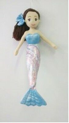 Brand New 45cm Lily Blue Mermaid Child's Toy Doll