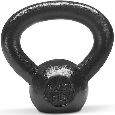 Yes4All Kettlebell 5 lb Solid Cast Iron Fitness Gym Body Training - ²YXFXD