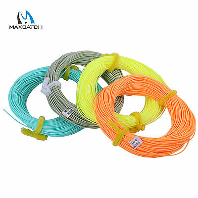 Maxcatch Fishing Fly Line WF2/3/4/5/6/7/8F Weight Forward Floating 4 Colours