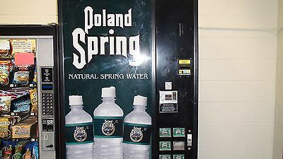 Dixie Narco 600 POLAND WATER BOTTLE OR CANS Vending Machine