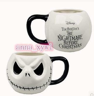 New Jack Skellington Nightmare Before Christmas 3D Mug Cup Gifts