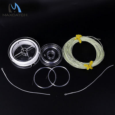 Fly Line Combo WF2/3/4/5/6/7/8F Floating Fishing Line,Backing,Leader,Tippet,Loop