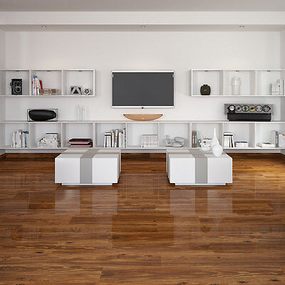 Wood Effect Porcelain Floor Tiles >> Ol Sevenoak French Oak Polished Wood Effect Porcelain Floor