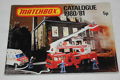 Matchbox Catalogue 1980/81  Diecast Model Toy Hobby Collector