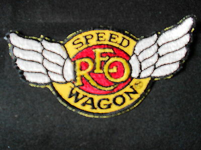 "'83 REO Speedwagon ""Good Trouble"" Tour Iron-on Embroidered Patch NOS NEW MINT!"