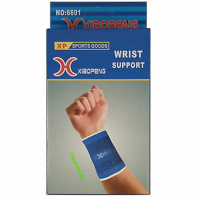2x HAND WRIST SUPPORT WEIGHT LIFTING GYM CARPAL TUNNEL BANDAGE WRAPS STRAPS BAND