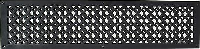 VR 100 Cast Aluminum Air Return Grill 6″x30″