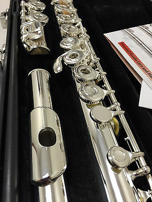 NEW Gemeinhardt 3O Silver-plated Flute, Open-Hole, C-foot, offset G, 30