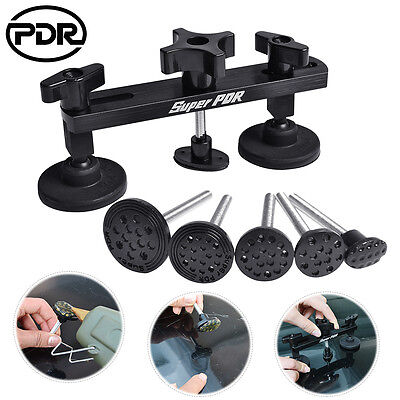 Paintless Dent Repair Bridge Puller PDR Tools Kit Auto Hail Ding Removal