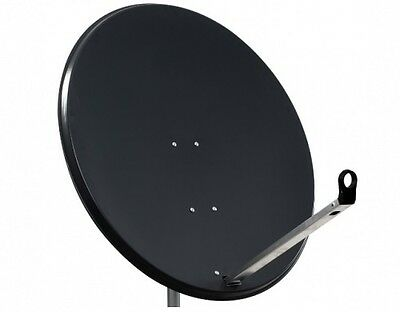 1M 100CM High Quality Solid Satellite Dish & Fittings Hotbird Astra NC+ Sky FTA