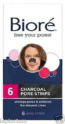 Biore Deep Cleansing Charcoal Pore Strips 6's