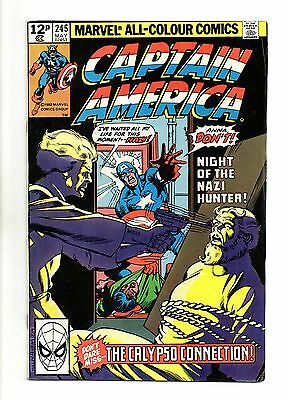Captain America Vol 1 No 245 May 1980 (VFN+) Modern Age (1980 - Now)