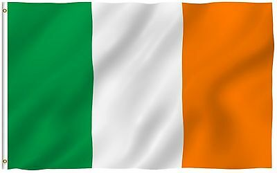 Polyester Ireland Country Flag/Banner Size 3' x 5'