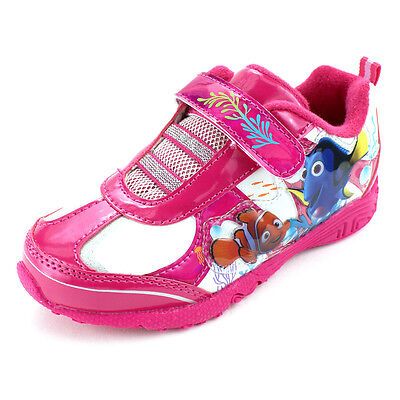 Finding Dory Nemo Girls Lighted Sneakers Shoes CH1546
