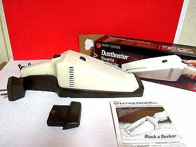 Vintage Black & Decker Dustbuster Cordless Vacuum Tested Working Wall Mount