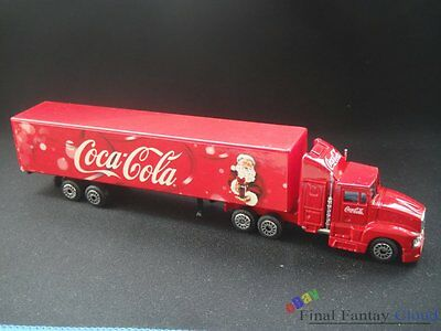 Coca Cola Christmas Lorry Toy Truck Metel Model MORAVIA PROPAG Original Box