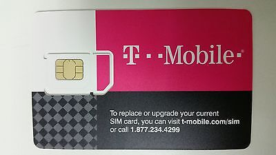 First Month $95 Plan Preloaded T-Mobile Prepaid SIM Card