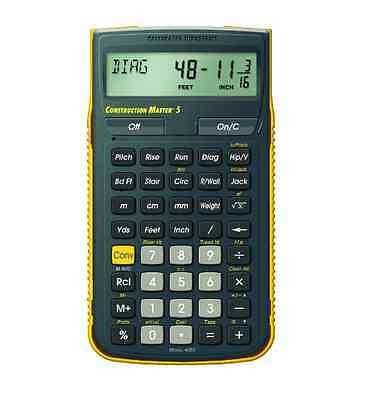 Calculated Industries Construction Master Pro Scientific Calculator, New