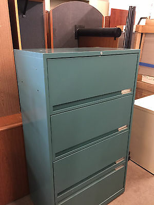 4 DRAWER LATERAL SIZE FILE CABINET by STORWAL OFFICE FURNITURE