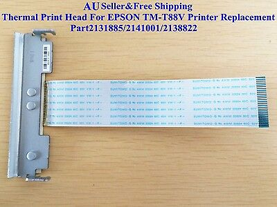Thermal Print Head For EPSON TM-T88V Printer Replacement 2131885/2141001/2138822