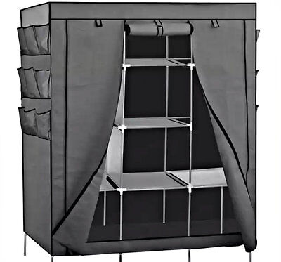 Shoe Rack Closet Organizers Storage Portable 13 Shelving Cabinet Unit 69'' NEW