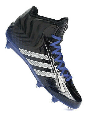 official photos 6b4d2 a27d1 ADIDAS Mens Crazyquick Mid Crazy Quick Football Cleat ROYAL BLUE BLACK  WHITE 12