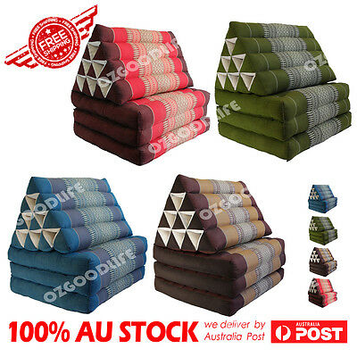 Large Thai Triangle Pillow Fold Out Mattress Cushion Day Bed 3FOLDS Best gift