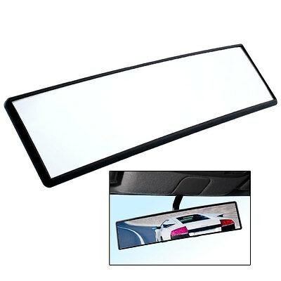 Car Large Angle 300mm Wide Curved Clip Rear View Anti-glare Convex Mirror