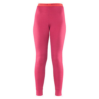 Devold Breeze lange Kinder Merino-Unterhose (raspberry)