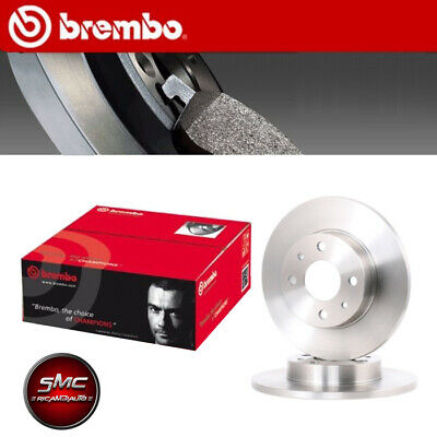 KIT DISCHI FRENO BREMBO SMART FORTWO Coup' (451) 1.0 Turbo 62KW DAL 01.07