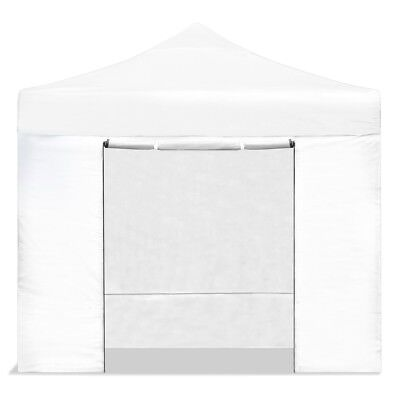Carpa plegable jardín 3x3 color blanco Mchaus carpa para eventos fiestas 3x3