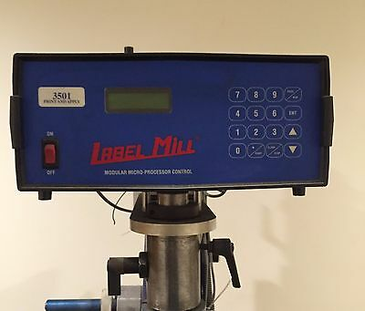 Label Mill Print and Apply Labeler Model 3501 Labeling Head