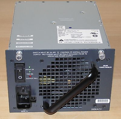PWR-C45-2800ACV Cisco 2800W Power Supply