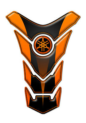 TANK PAD Paraserbatoio RESINATO 3D FOR MOTO DIAPSON ORANGE STYLE GP-116O