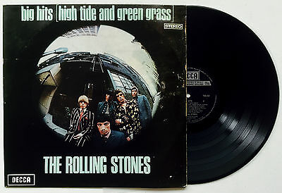 THE ROLLING STONES Big Hits/High Tide and Green Grass OZ Decca TXS 101 EX/VG