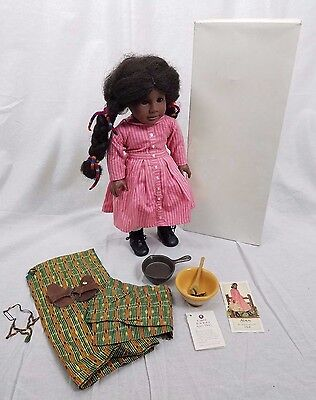 Addy Doll Pleasant Company American Girl 1986 Dress + Sweet Potato Pudding Set
