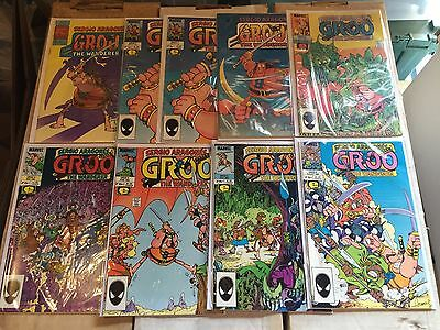 Groo The Wanderer #1-120 Lot Of 113 Books Not Complete High Grade Signature #1