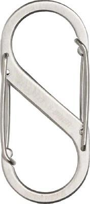 NEW Nite Ize S-Biner #2 Stainless Steel Carabiner Each Stainless